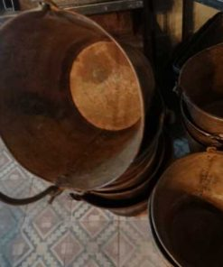 Old zinc and metal buckets-3