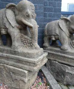 stenen antieke olifanten India-1