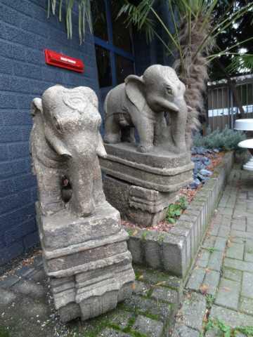 stenen antieke olifanten India-2