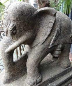 stenen antieke olifanten India-3