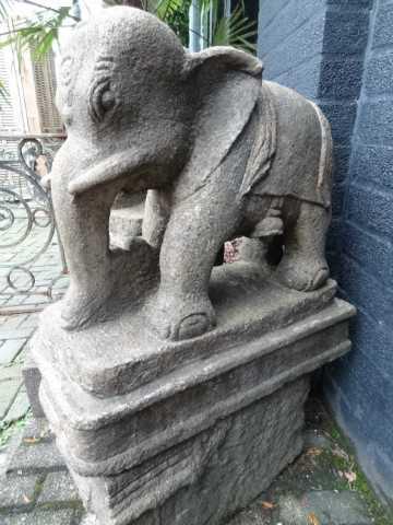 stenen antieke olifanten India-4