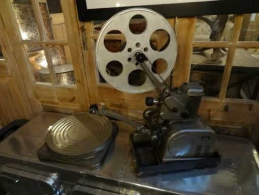 Antique film projector-1