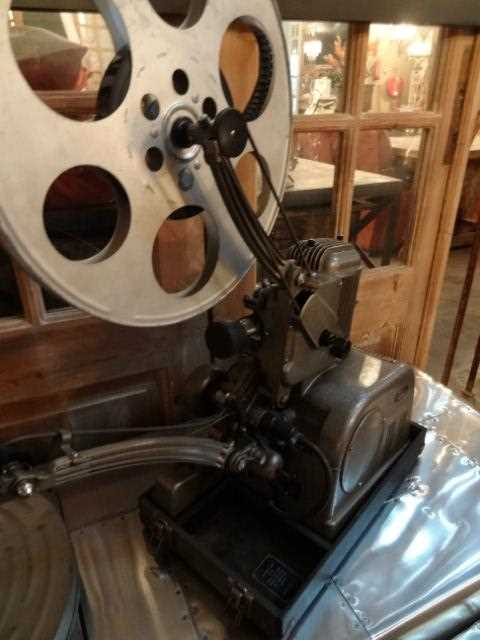 Antique film projector-2