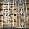 Weiße schmiedeeiserne Zäune - 1