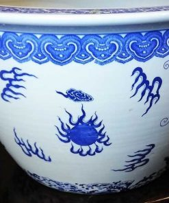 Old chinese flower pots-1