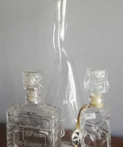 Dekorative antike Glasflaschen-1