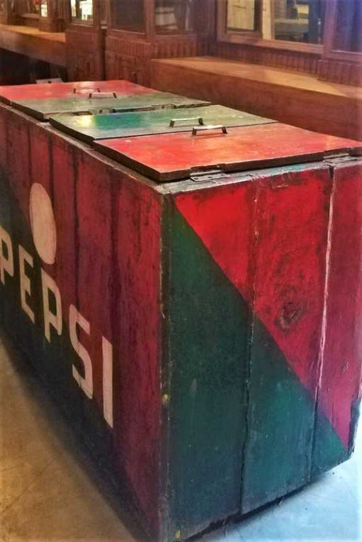 Large Vintage Cooler-3