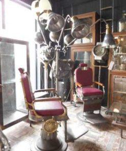 Antiker renovierter Friseurstuhl-3
