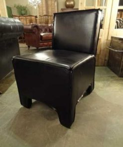 Cowhide dining chair-1