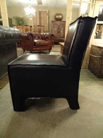 Cowhide dining chair-2