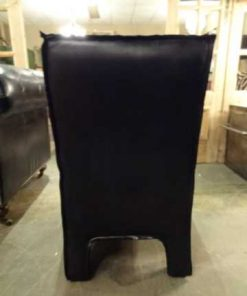 Cowhide dining chair-3
