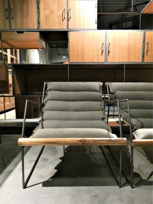 Industrial relaxing armchair-2