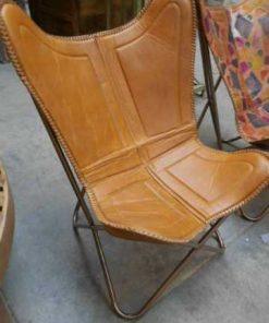 Sleek leather chair / armchair-2