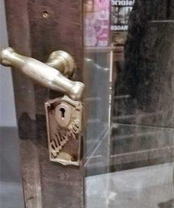 Antike Metall-Vitrine-4