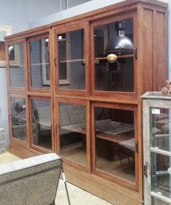 Antique display case cabinets-1