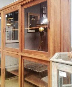 Antique display case cabinets-2