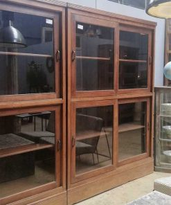 Antique display case cabinets-3