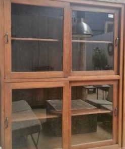 Antique display case cabinets-4