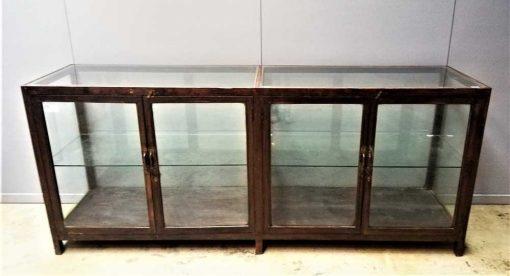 Large antique showcase counter-1