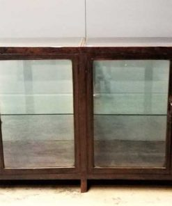 Large antique showcase counter-2
