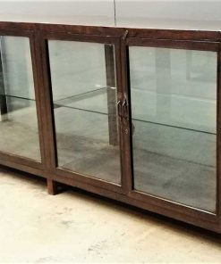 Large antique showcase counter-4