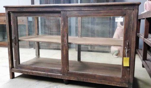 Antieke vitrine toonbank lxdxh 155x64x94 cm-1