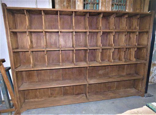 Vintage wooden cabinet-1