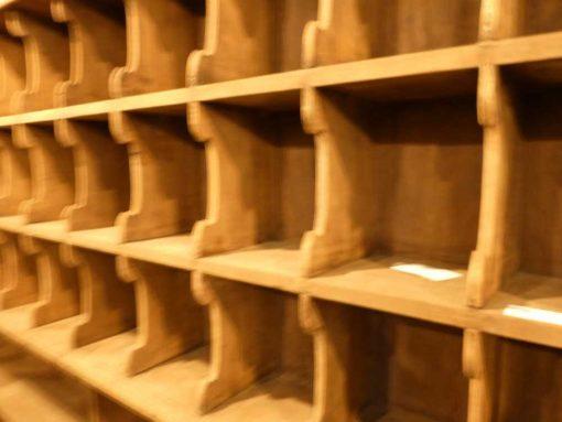 Vintage wooden cabinet-3