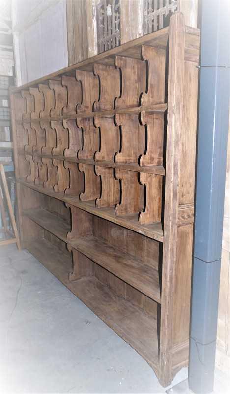 Vintage wooden cabinet-5