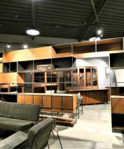 Large cabinets on wall-5