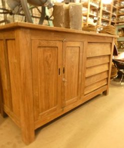Vintage teak kitchen unit / work table / sideboard-1