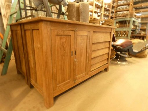 Vintage teak kitchen unit / work table / sideboard-1