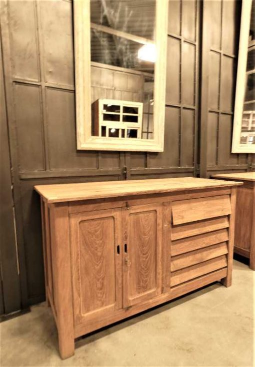 Vintage teak kitchen unit / work table / sideboard-3