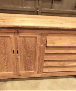 Vintage teak kitchen unit / work table / sideboard-4