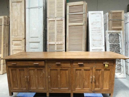 Antique workbench / kitchen cabinet-1