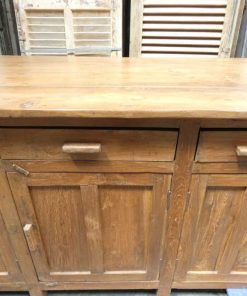 Antique workbench / kitchen cabinet-2