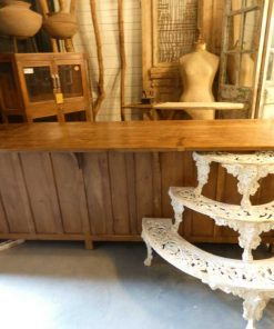 Antique workbench / kitchen cabinet-3