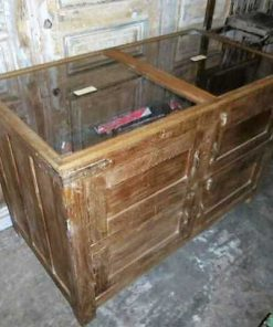 Antique display case counter-1