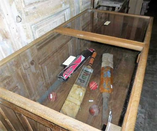 Antique display case counter-5