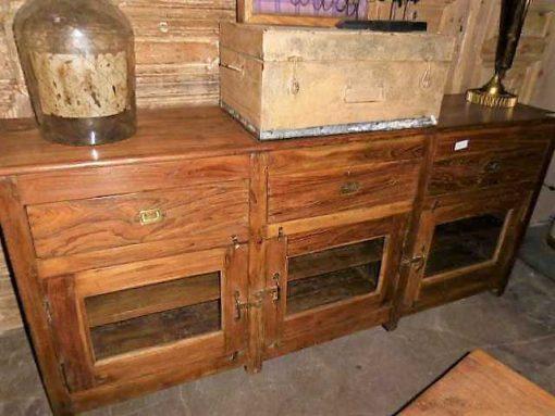 Antique teak dresser-1