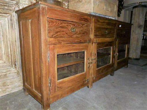 Antique teak dresser-3