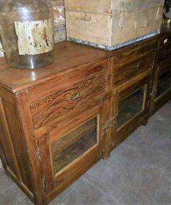 Antique teak dresser-4