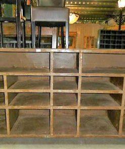 Vintage industrial metal cabinet-1