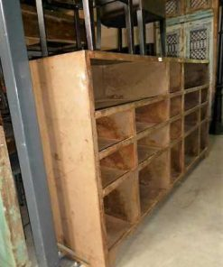 Vintage industrial metal cabinet-3