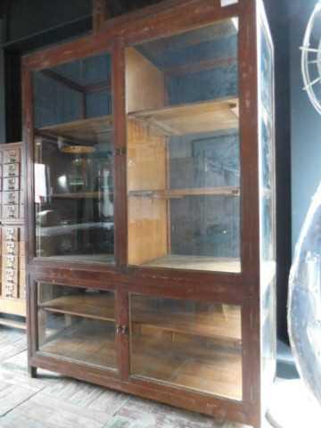 Antique display case-4