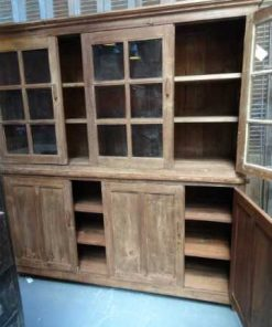 Bookcase display cabinet-2