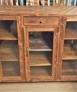 Antique Low Vitrine / Display Case-1