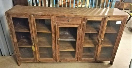 Antique Low Vitrine / Display Case-2