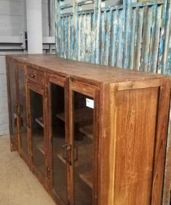 Antique Low Vitrine / Display Case-3