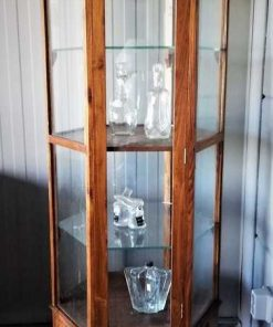 Antique 6 Angled Display Case-1